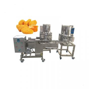 Industrial Hamburger Burger Meat Patty Press Making Machine