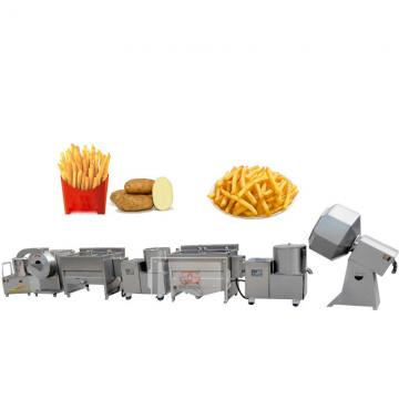 Potato French Fries Production Line Potato Chips Making Machine Price