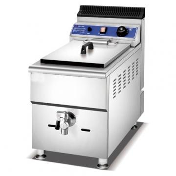 Automatic Discharge Falafel Deep Fryer Machine