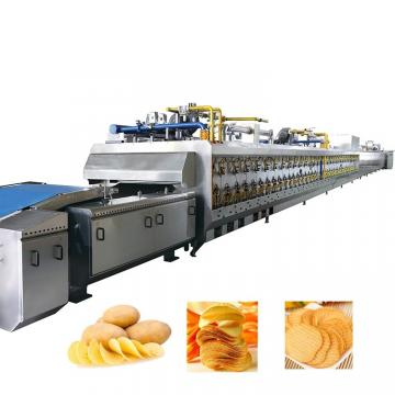Professional Automatic potato chips maker potato peeling and chips machine