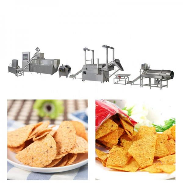 Fully Automatic Bules Chips Tortilla Food Making Machines