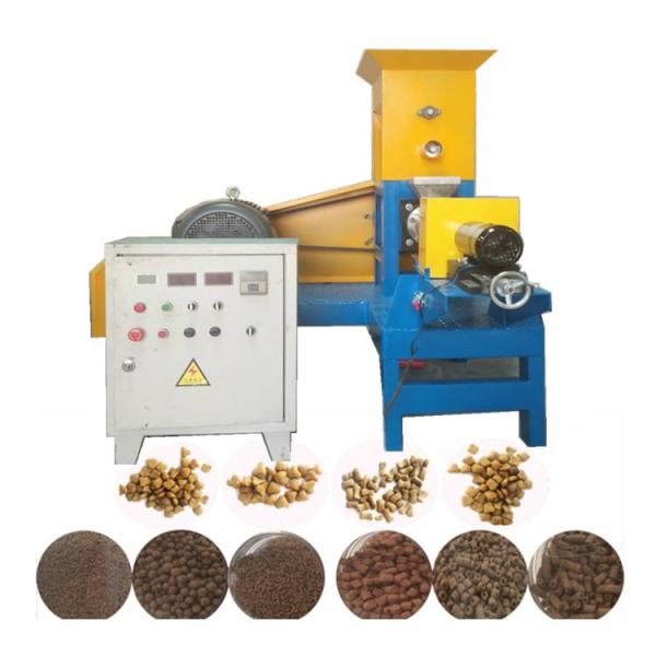 Factory Supplied Automatic Dry Pet Dog Food Pellet Making Machine