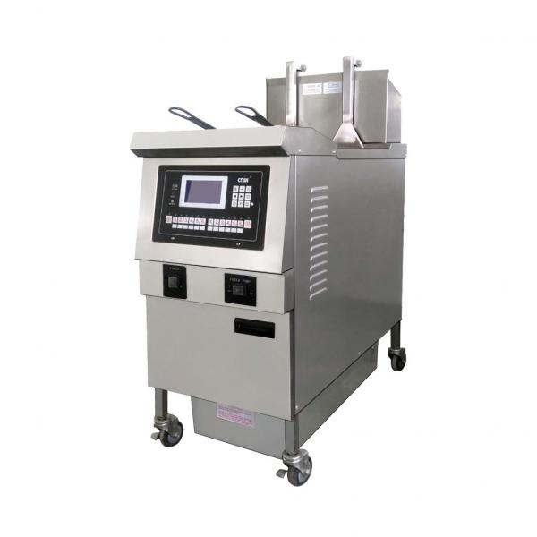 Automatic Peanut Frying Machine Potato Chips Frying Machine Fish Fryer Machine