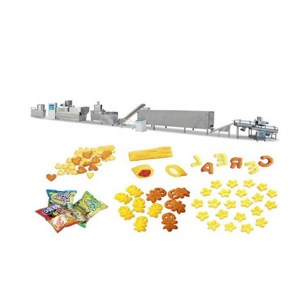 Automatic servo jelly bar production line snack machine assembly line packaging machine